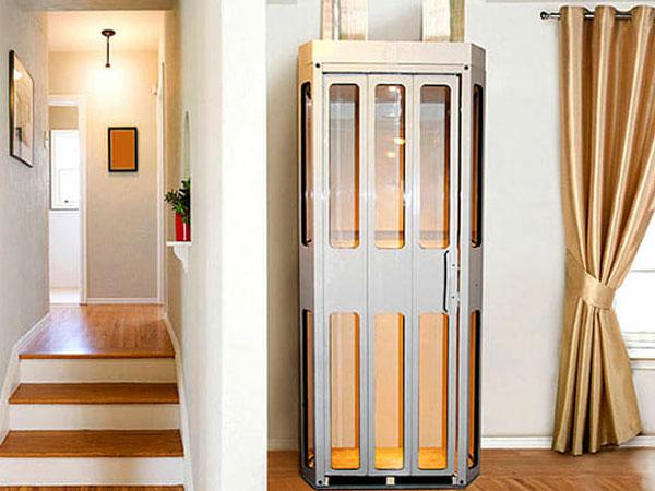 Thang máy gia đình loại nhỏ, phù hợp cho những công trình